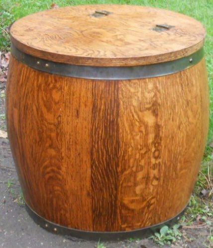 Guinness Wooden Barrel Cocktail Cabinet